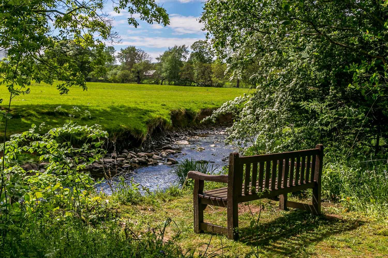 Dalemain garden, Dacre Beck