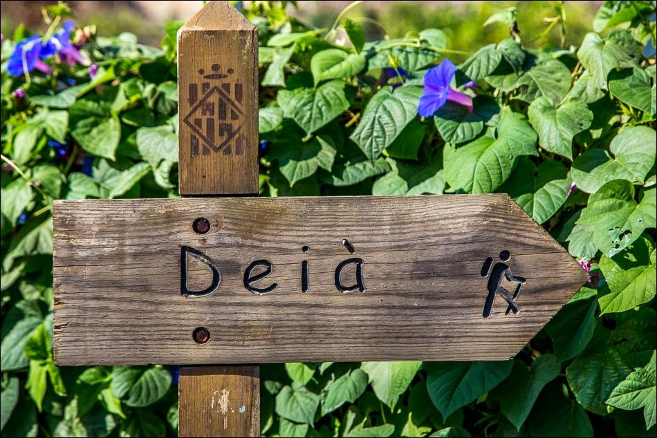 Walking sign Deia