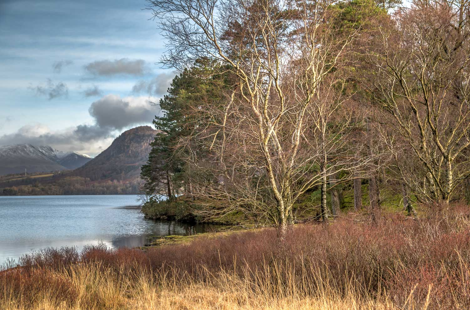 Derwent Water walk, Great Bay