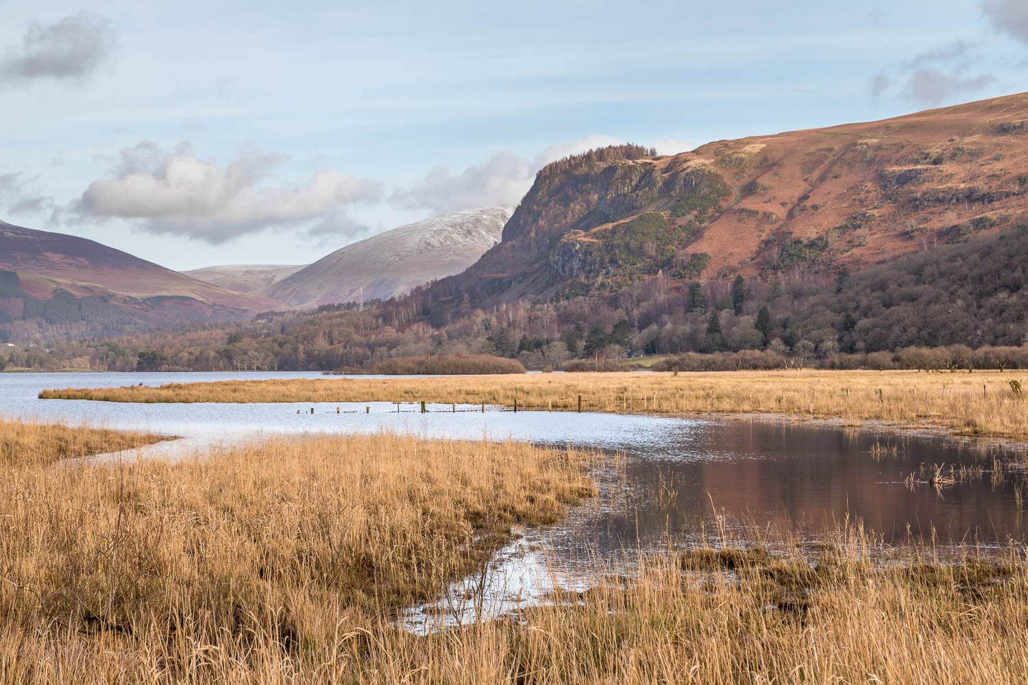 Derwent Water, Great Bay, Walla Crag