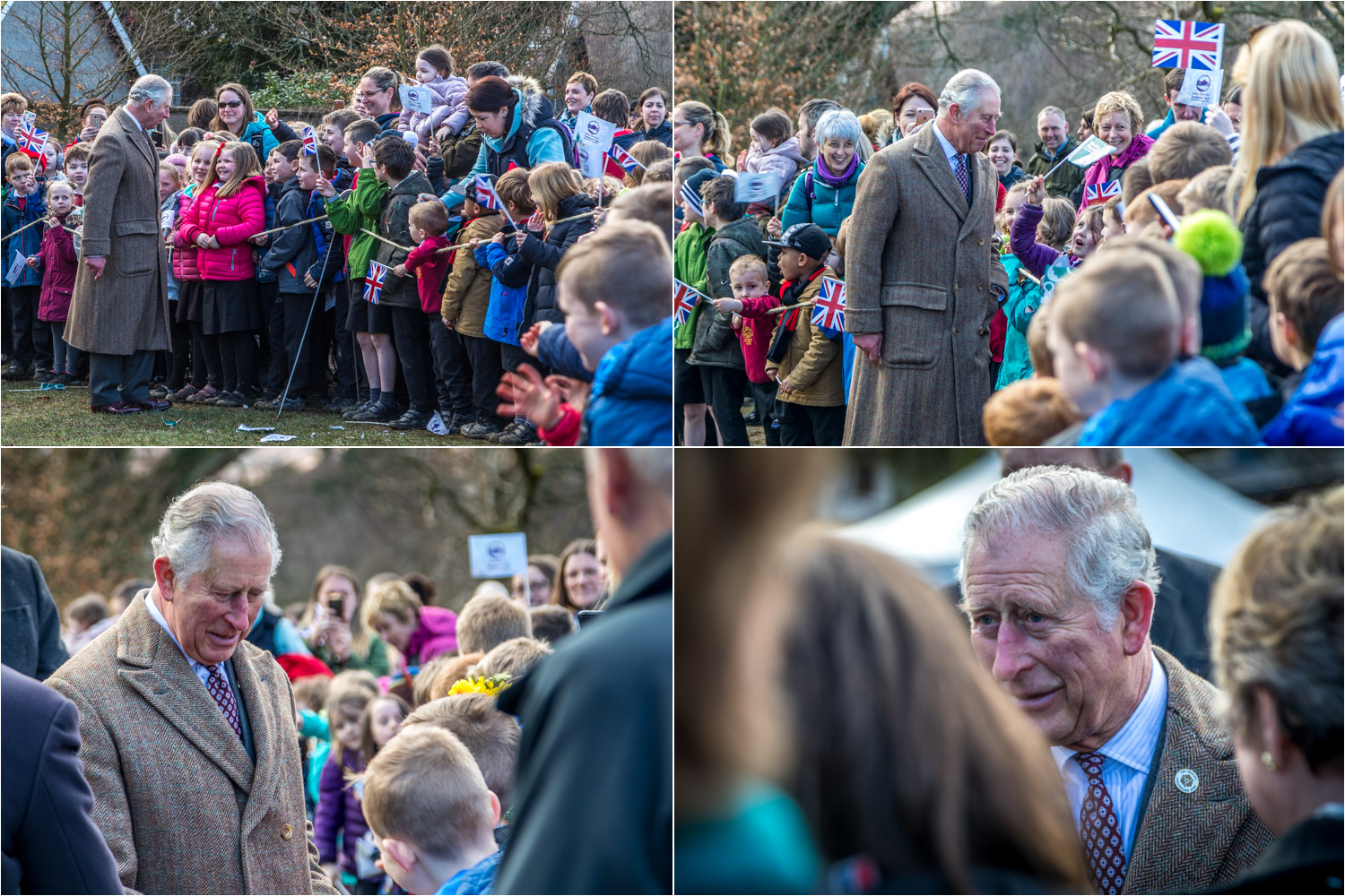 Prince Charles is here to unveil a plaque marking the status of the Lake District as a World Heritage Site