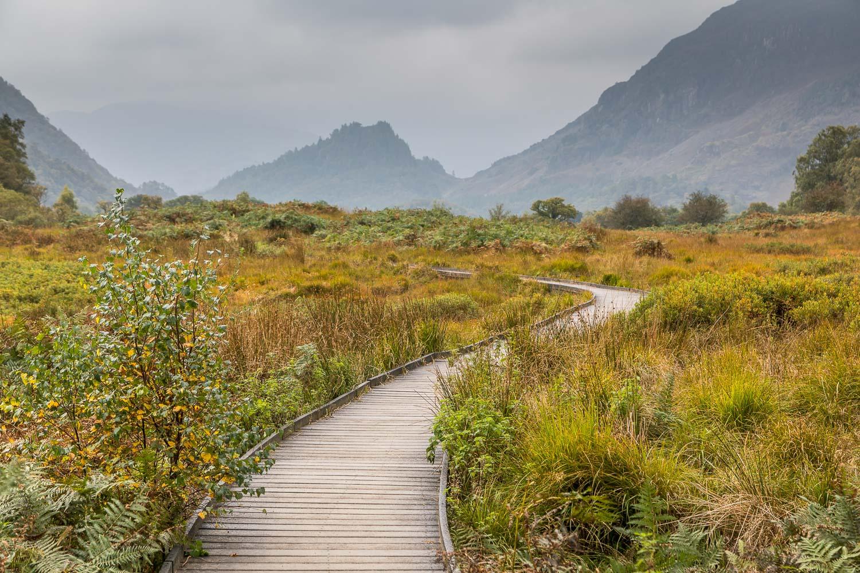 Derwent Water walk, Castle Crag