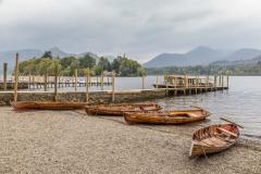 Derwent Water walk, landing stages