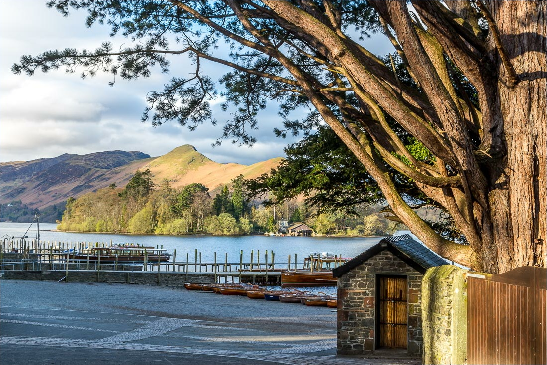 The landing stages Derwent Water