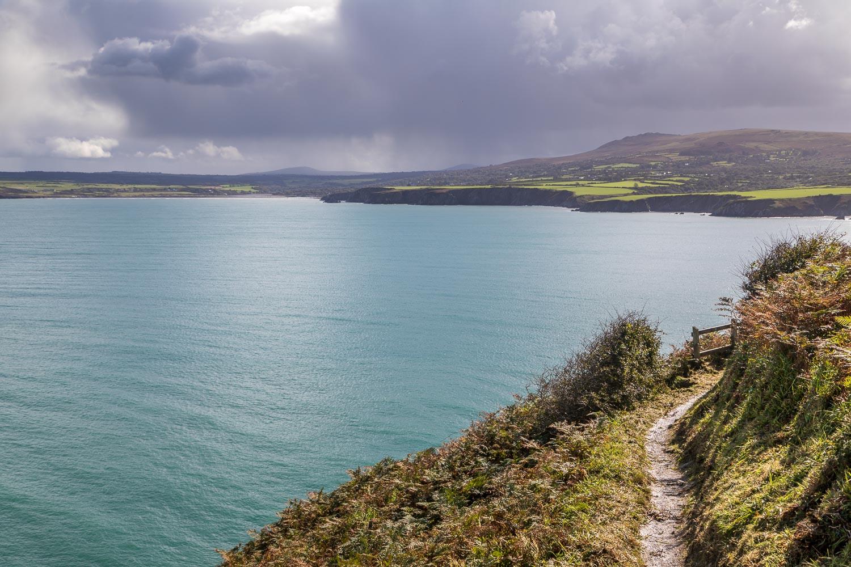 Dinas Island, Wales Coast Path