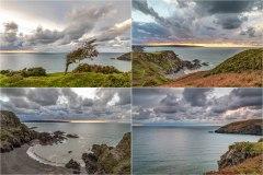 Pembrokeshire coast, dusk