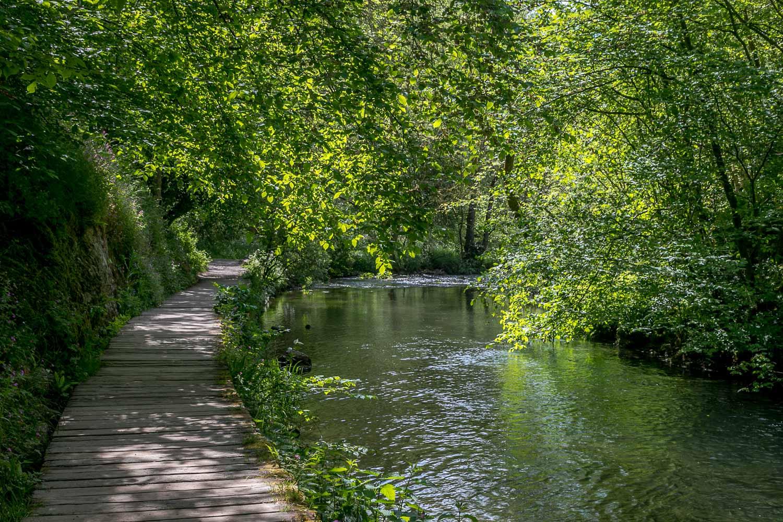 Dovedale walk, River Dove walk