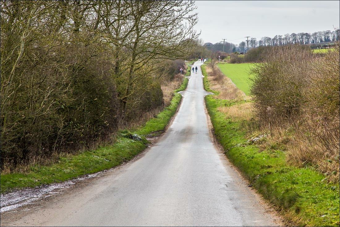 road into North Newbald