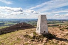 Eildon Hill summit