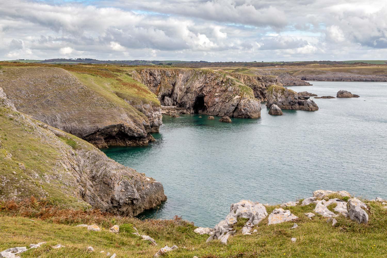 Elegug Stacks walk, Wales Coast Path