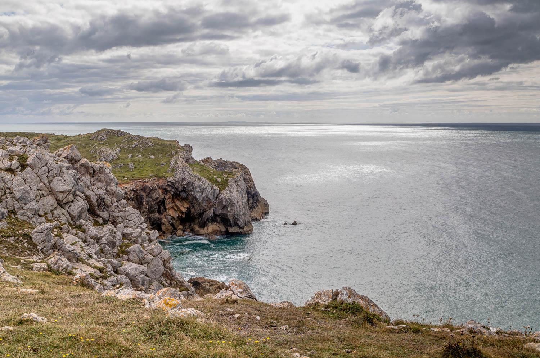 Wales Coast Path, Pembrokeshire Coast Path, Elegug Stacks walk