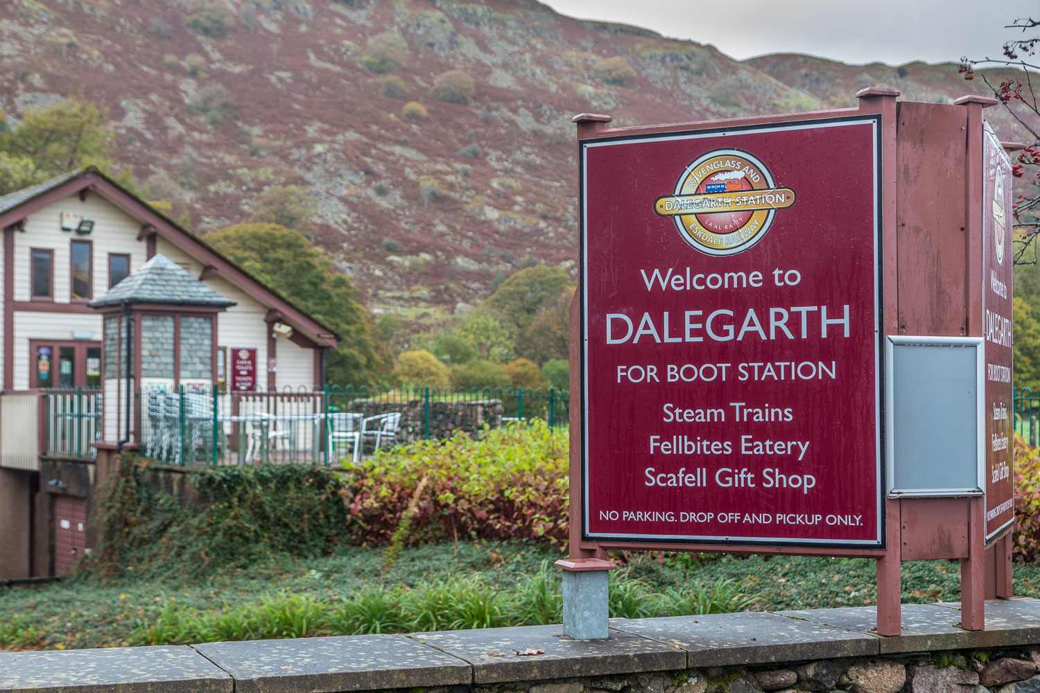 Dalegarth station