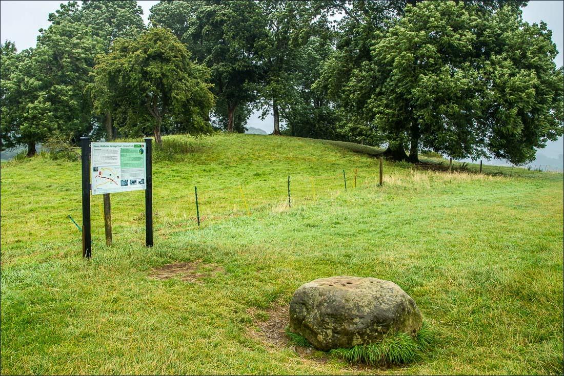 Eyam walk, Boundary Stone