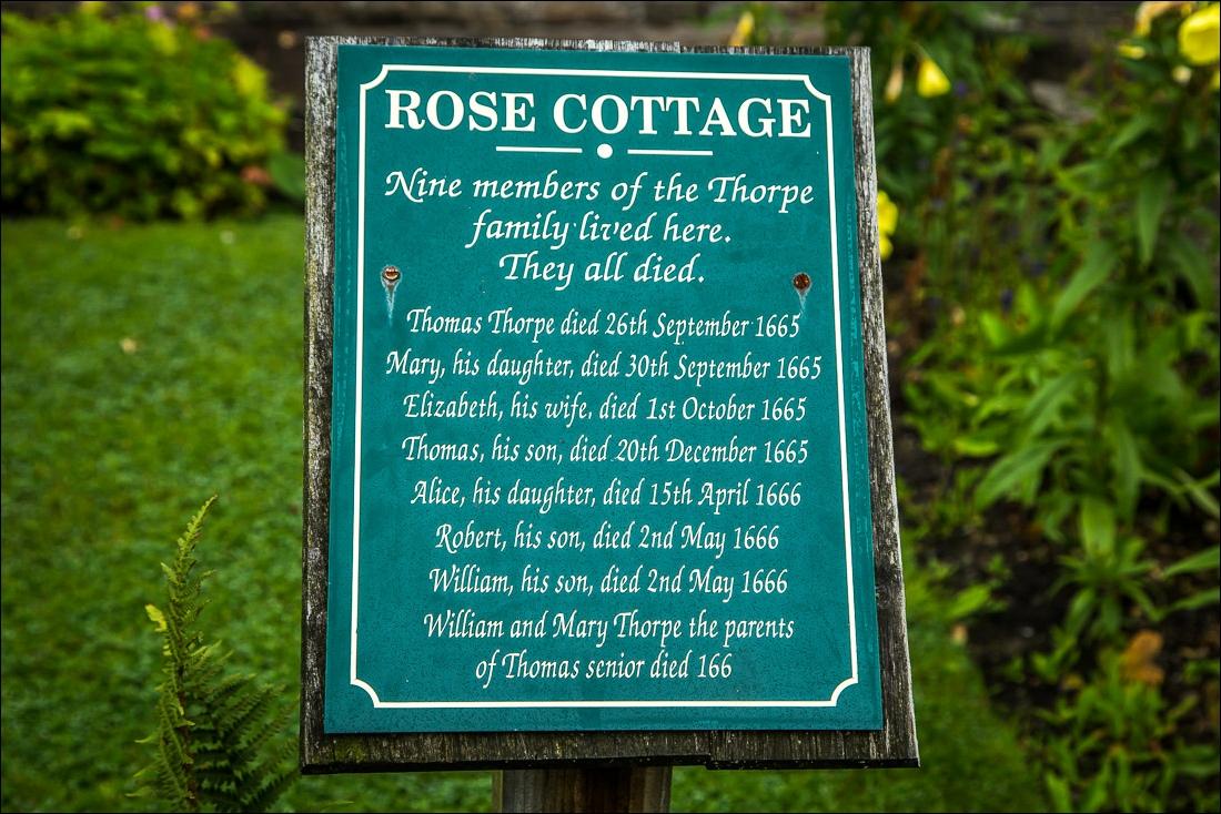 Eyam, Plague Cottages