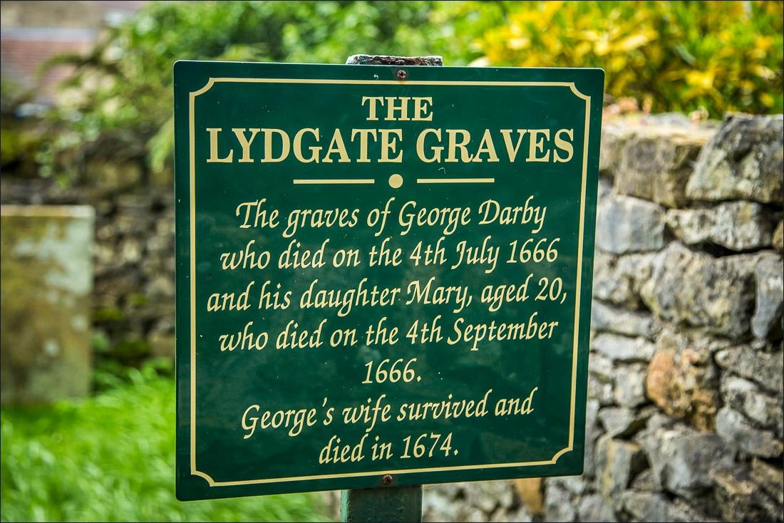 Eyam, Lydgate Graves