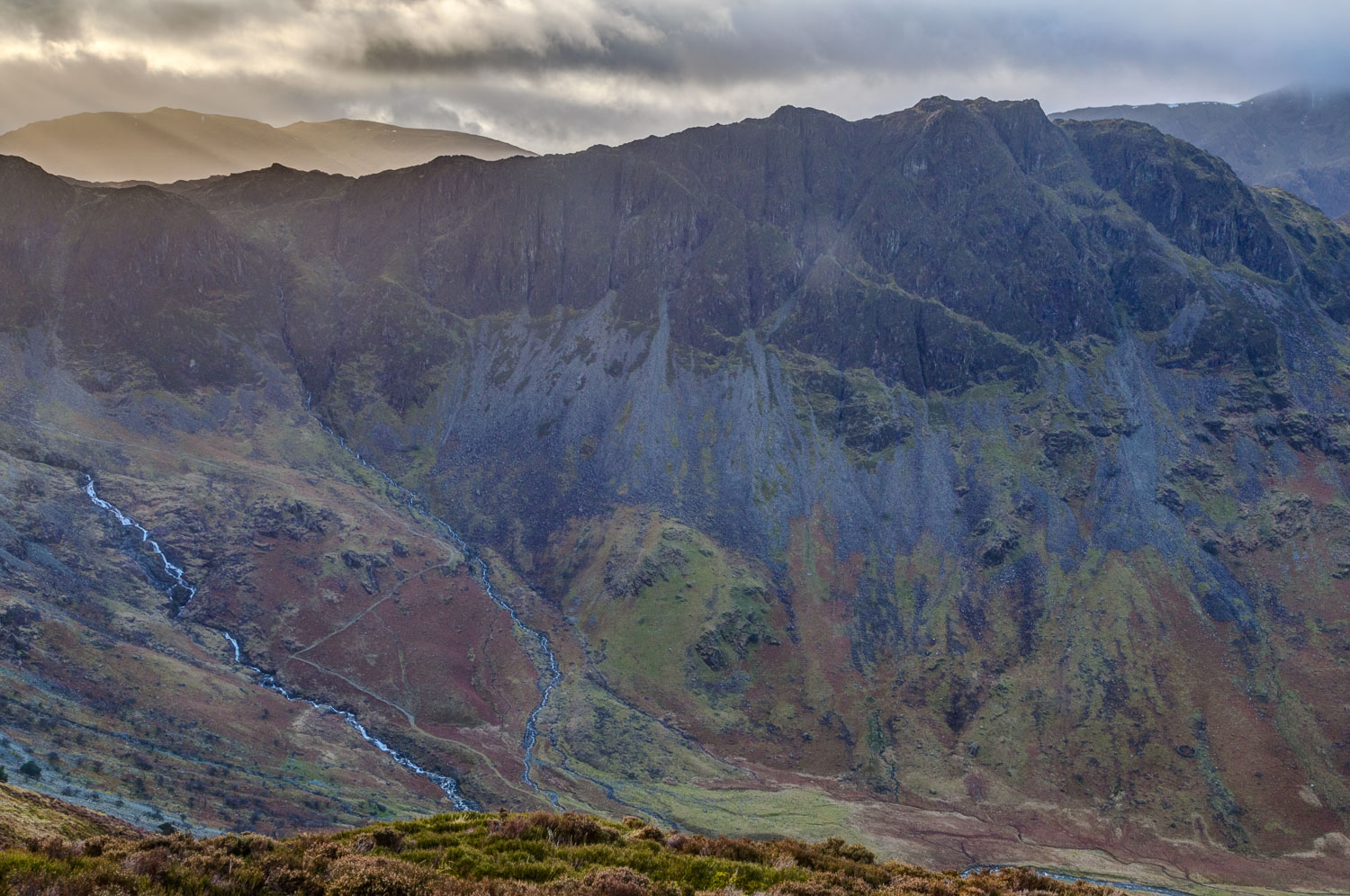 Haystacks from Fleetwith Pike