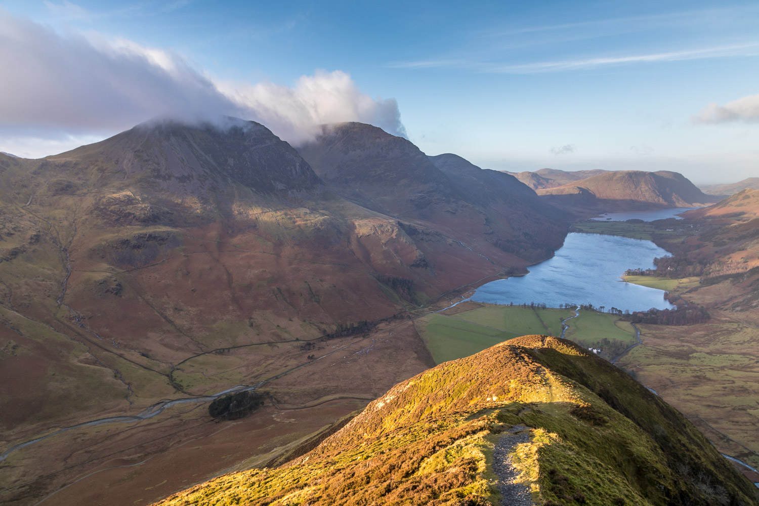 Fleetwith Pike view, Buttermere