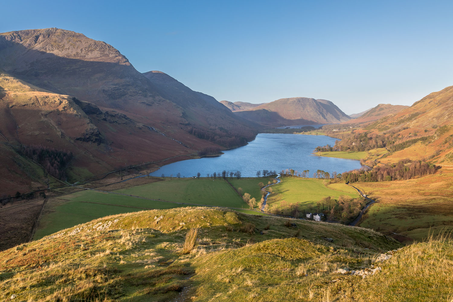 Fleetwith Pike, Buttermere, Crummock Water