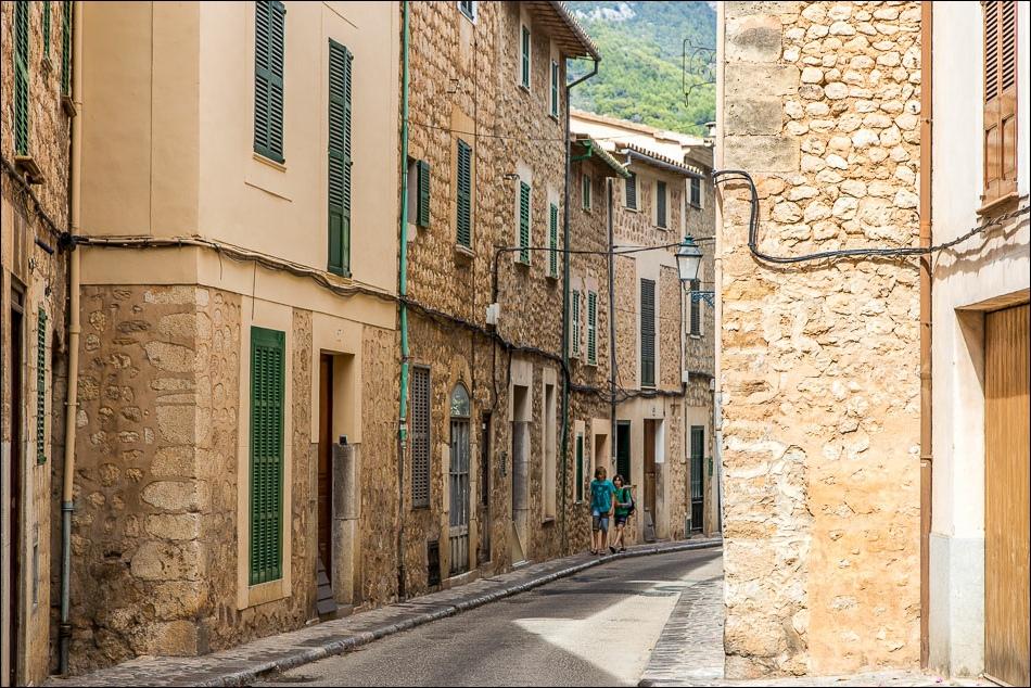 streets of Sóller