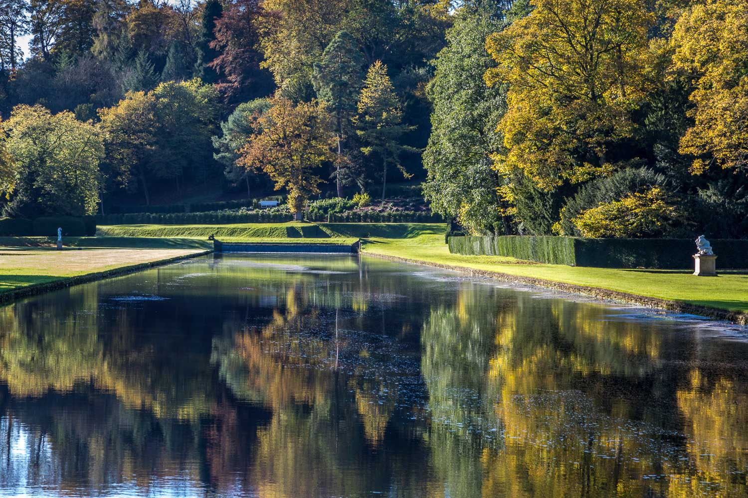 Studley Royal Water Gardens Lower Canal