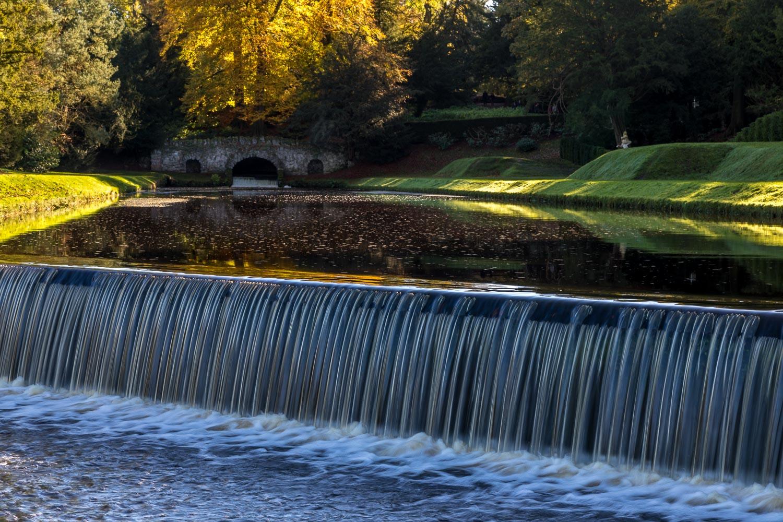 Studley Royal Water Gardens Rustic Bridge