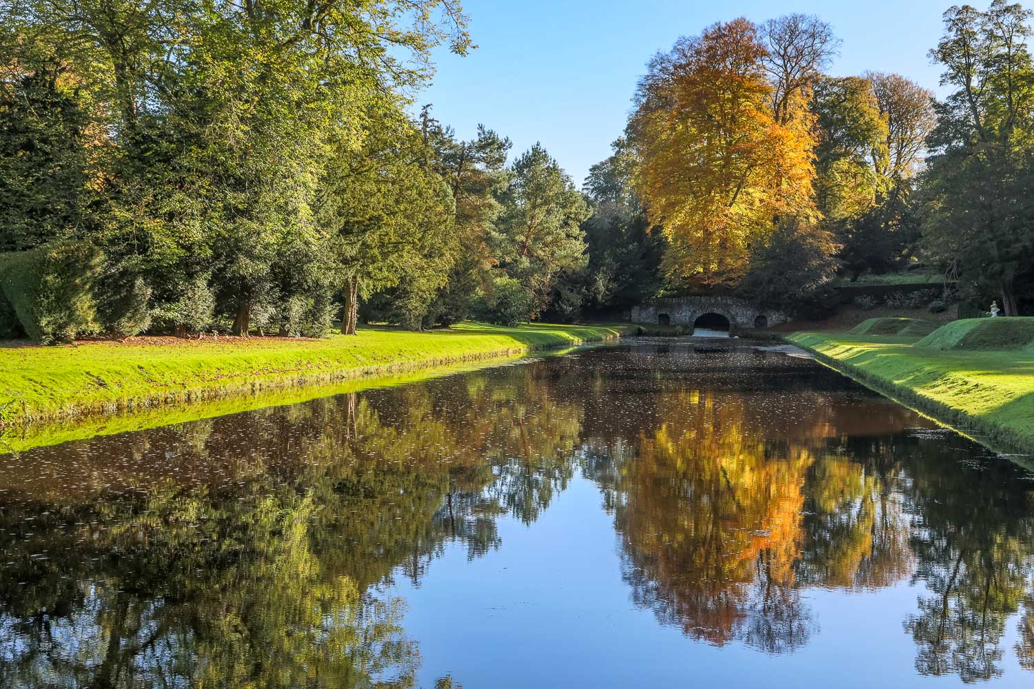 Studley Royal Water Gardens Upper Canal