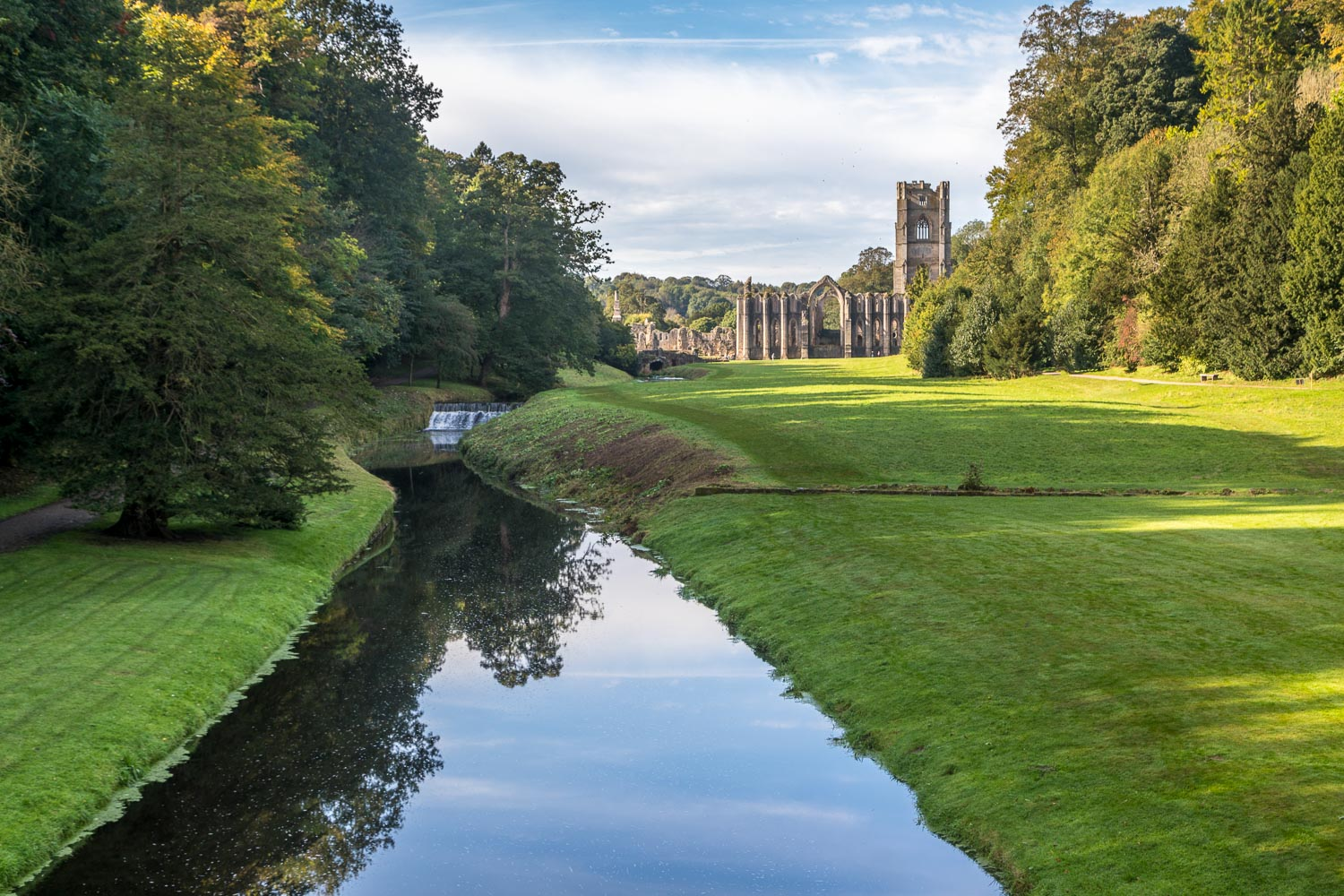 Fountains Abbey, River Skell