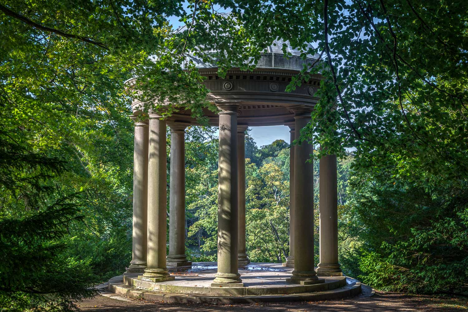 Temple of Fame, Fountains Abbey