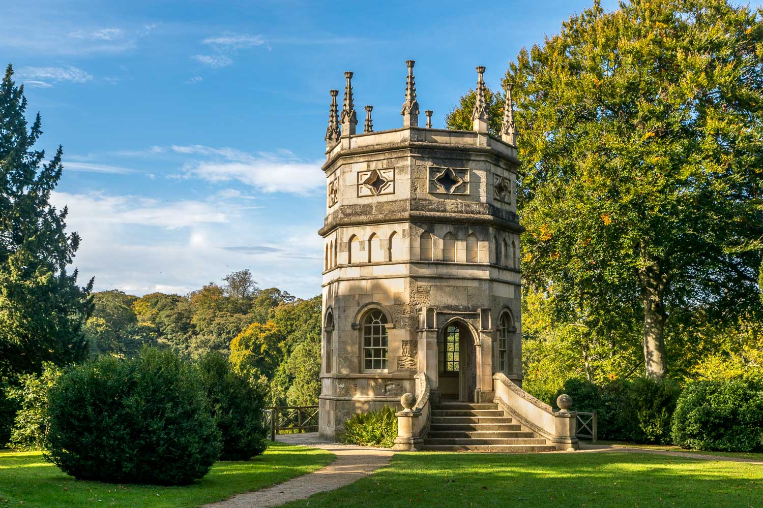 Octagonal Tower, Fountains Abbey