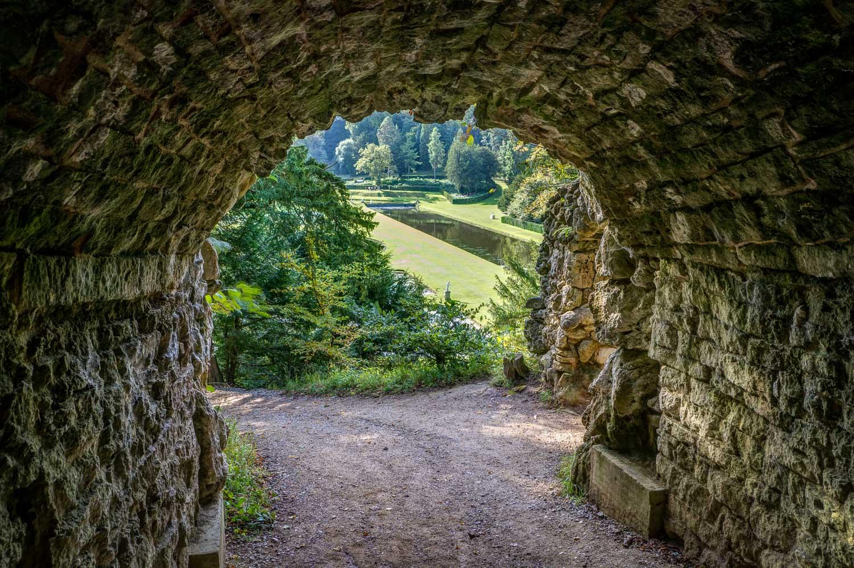 Serpentine Tunnel, Studley Royal Water Garden