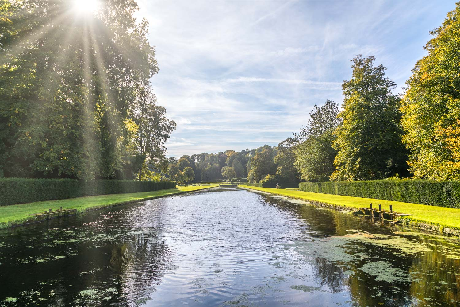 Lower canal, Studley Royal Water Garden