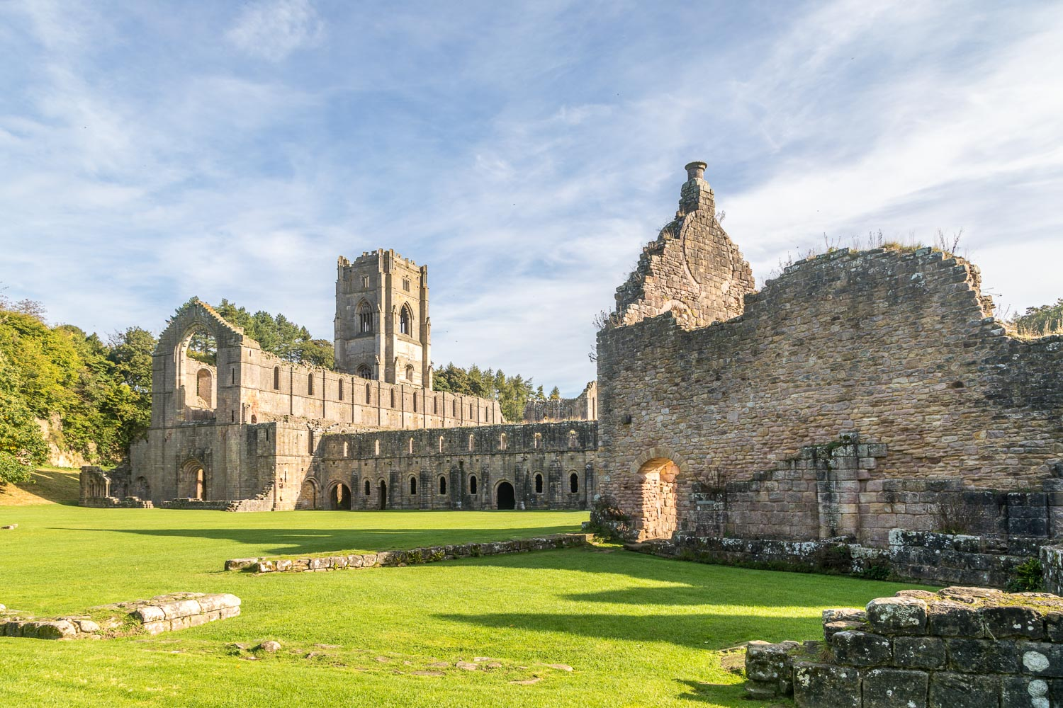 Huby's Tower,  Fountains Abbey