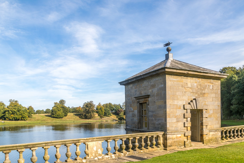 Fishing tabernacle, Studley Royal Water Garden