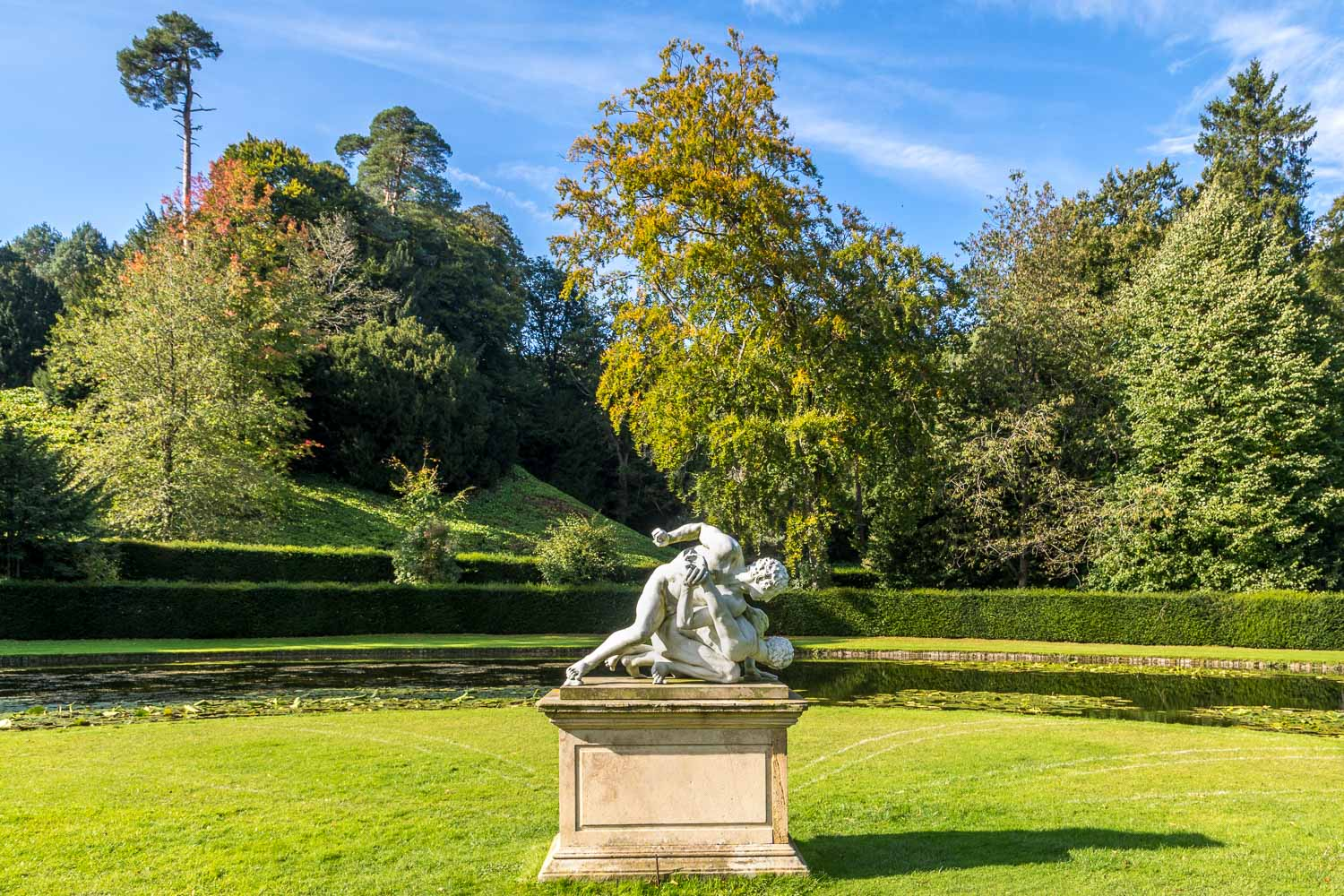 The Wrestlers, Studley Royal Water Garden