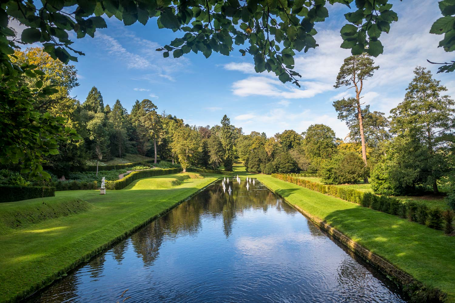 Upper Canal, Studley Royal Water Garden
