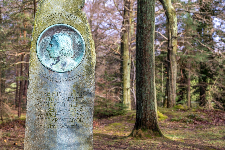 Friars Crag, Ruskin Memorial