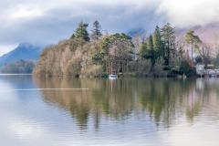 Derwent Water, Derwent Isle
