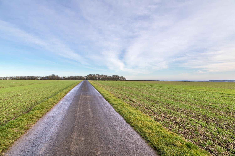 Fridaythorpe walk, Wold House Farm