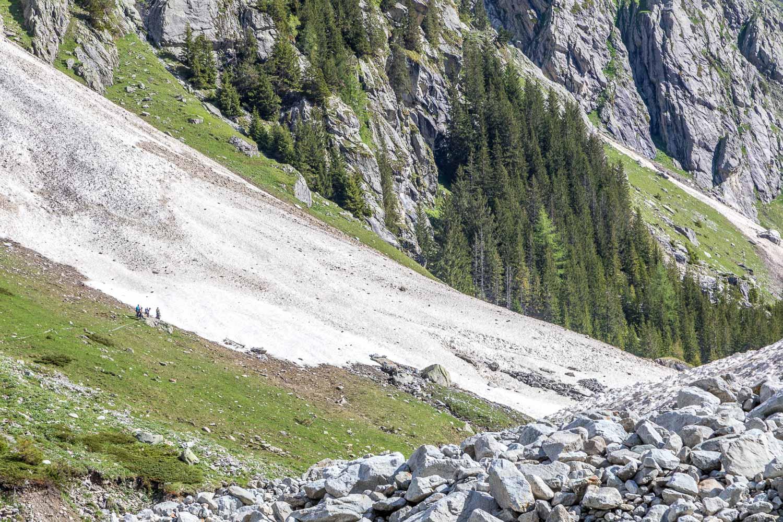 Gasterntal Valley snowfield