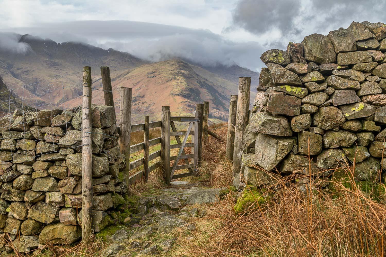 Great Langdale, gate