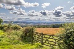Gate near Corbridge Northumberland
