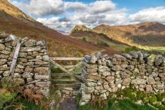 Castle Crag, gate