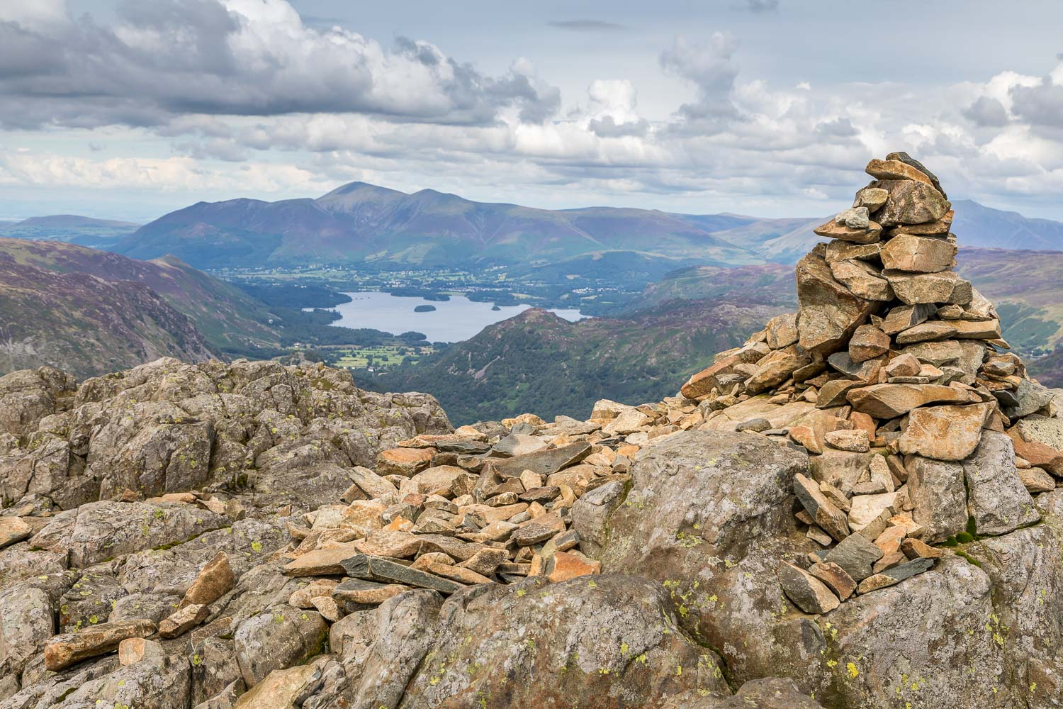 Glaramara summit cairn