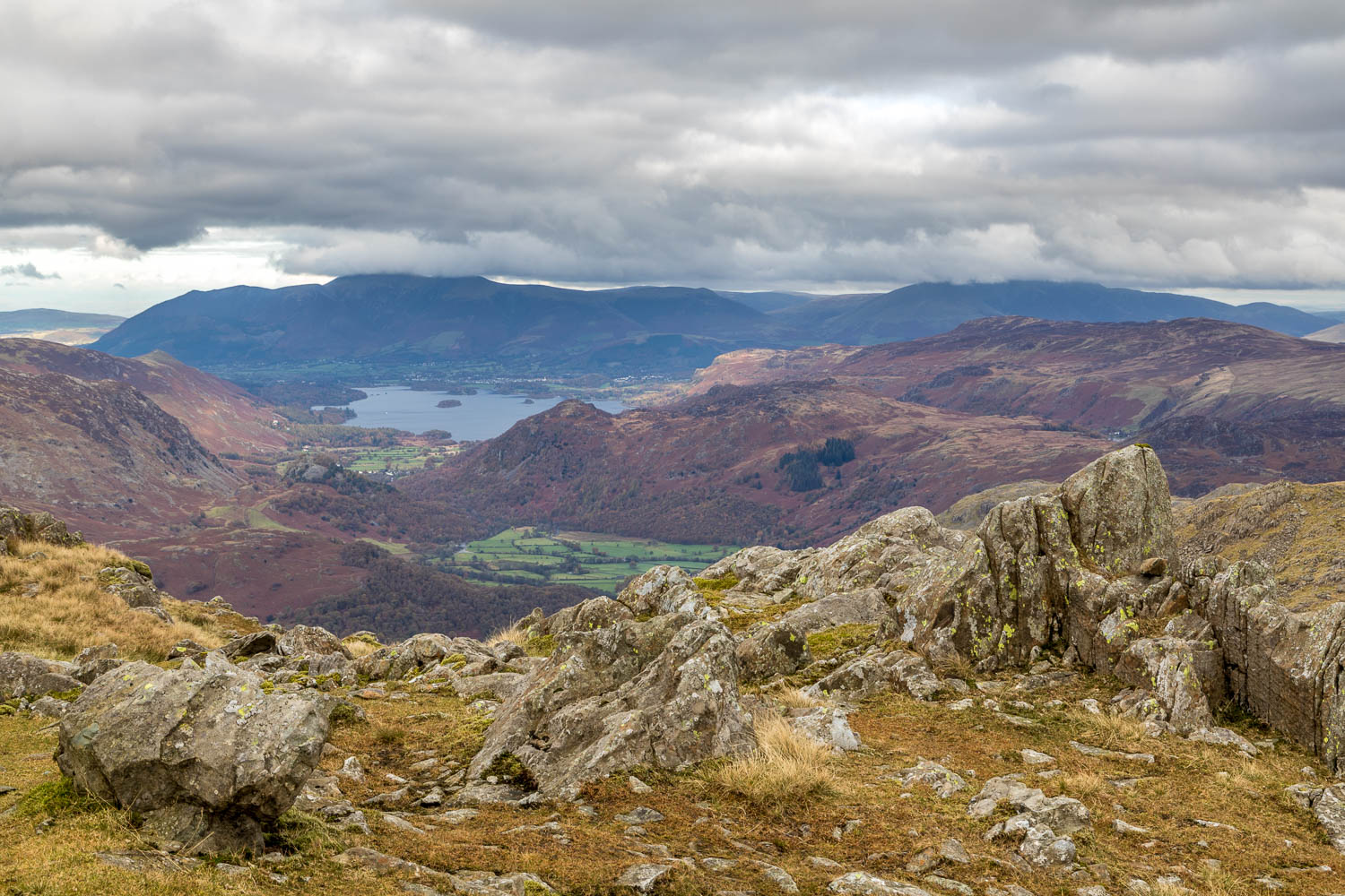 Derwent Water from Glaramara