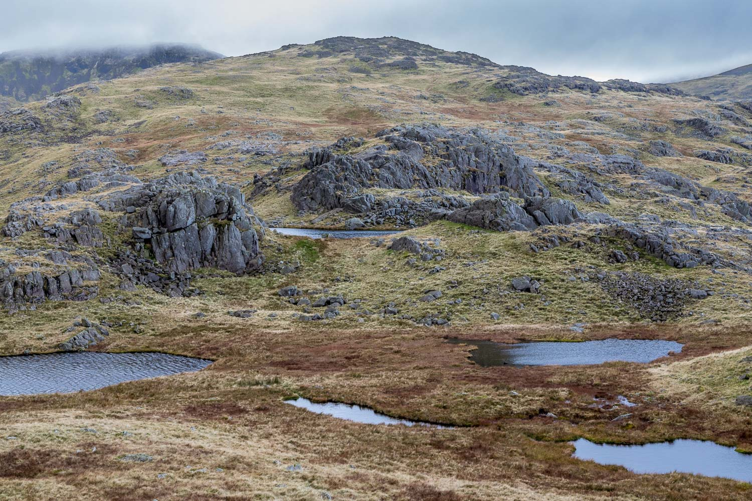 Allen Crags tarns