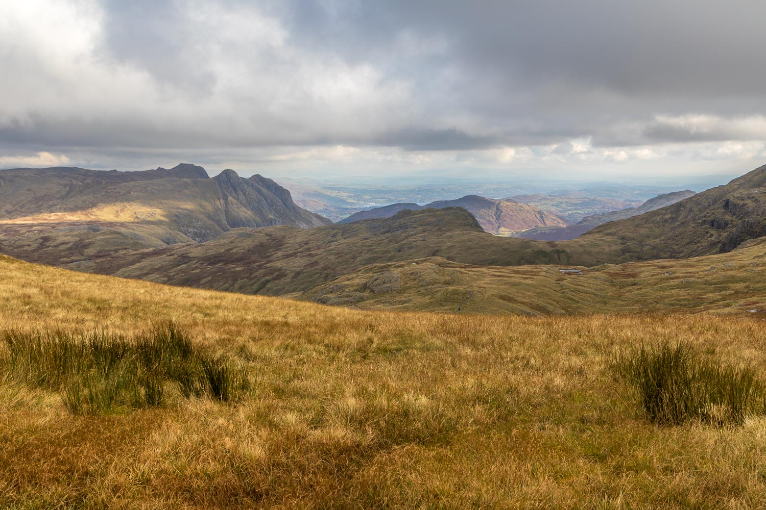 Langdake Pikes from Allen Crags