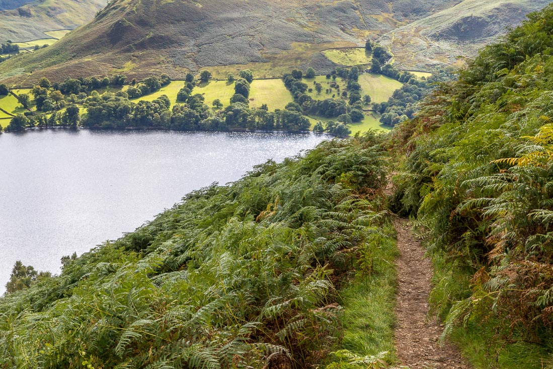 Gowbarrow Fell walk, Ullswater