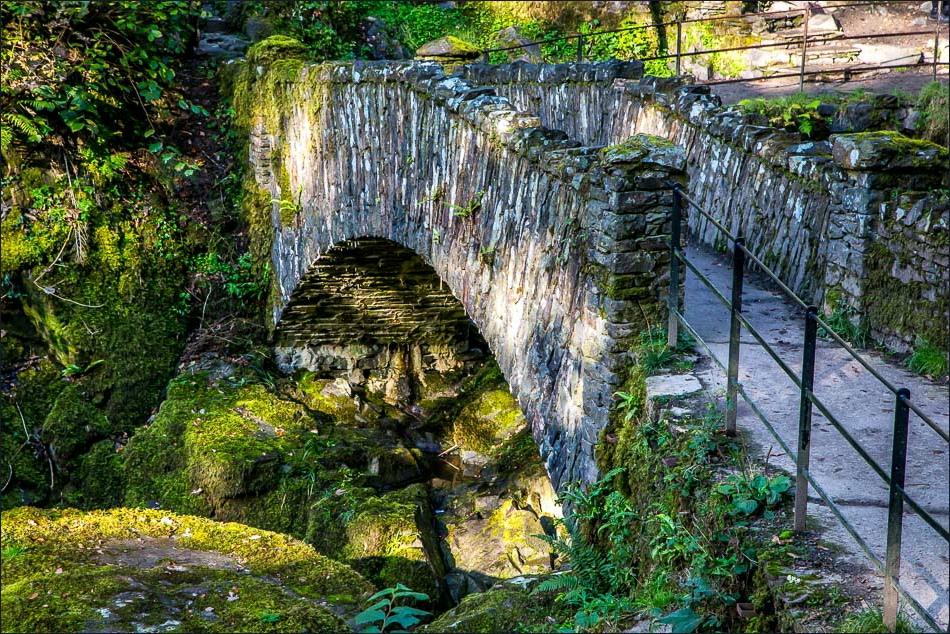 bridge at the foot of Aira Force