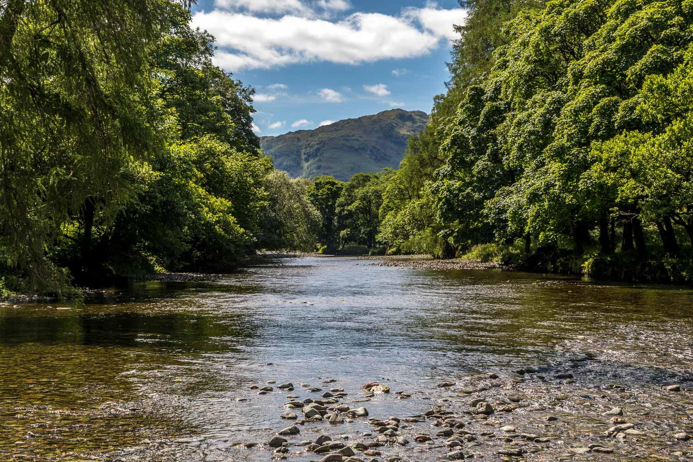 Grange Fell walk, River Derwent