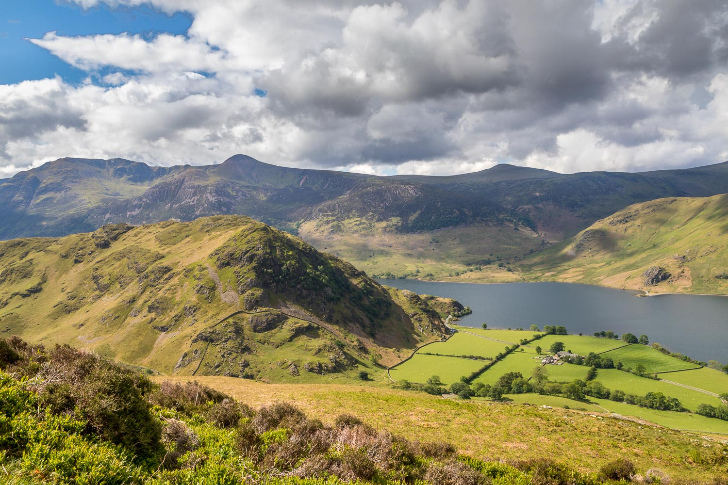 Rannerdale Knotts and the High Stile range
